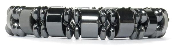 London  - Hematite Magnetic Therapy Bracelet