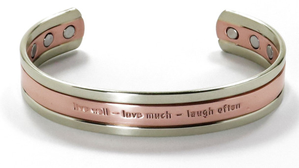 Live Well - Copper Magnetic Therapy Bracelet