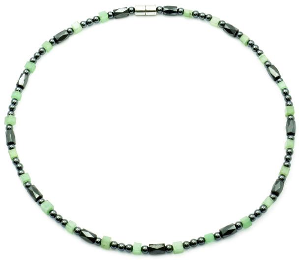 Harmony  - Semiprecious Hematite Magnetic Necklace - Colors may vary