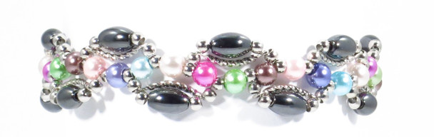Dancing Colors  -  Magnetic Therapy Bracelet
