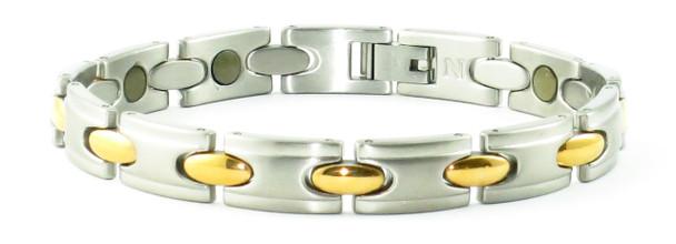 24/7 Good Times - Samarium Cobalt  - Stainless Steel Magnetic Bracelet