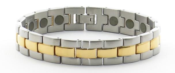 24/7 Solar Dream - Samarium Cobalt  - Stainless Steel Magnetic Bracelet