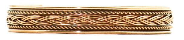 Comfort32 - Solid Copper Cuff Bracelet