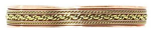 Comfort39 - Solid Copper Cuff Bracelet