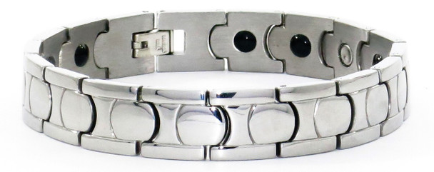 Classic Order - Stainless Steel Magnetic  Therapy Bracelet