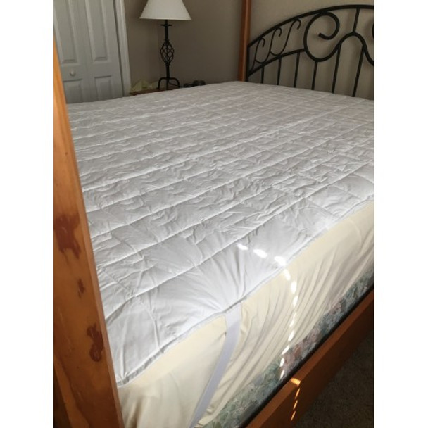 Magnetic Mattress Pad - Deluxe - California King