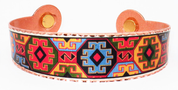 Southwest - Solid Copper Magnetic Therapy Bracelet