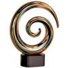 Swirl Art Glass Statuette