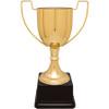 Extra Small Zinc Trophy on Black Plastic Base