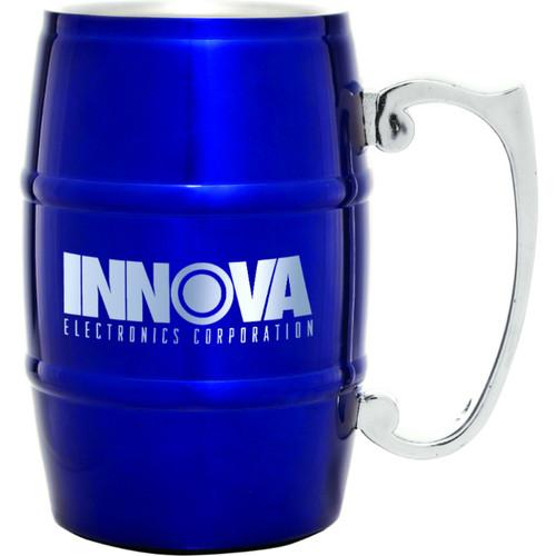 Metal Barrel Mug with Handle