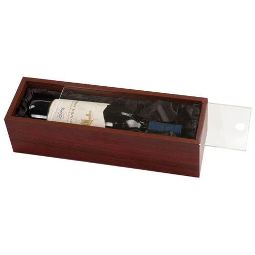 Rosewood Bottle Case