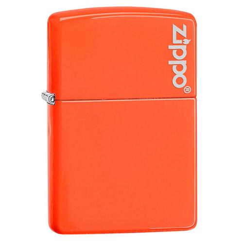 Zippo® Neon Lighter with Logo