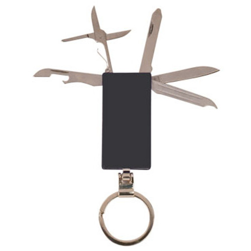 6-Function Pocket Knife Key Ring