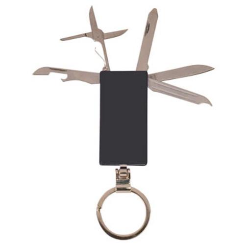 6-Function Pocket Knife Key Ring