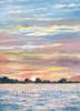Chesapeake Bay Sunset note card