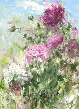 Mother's Peonies note cards