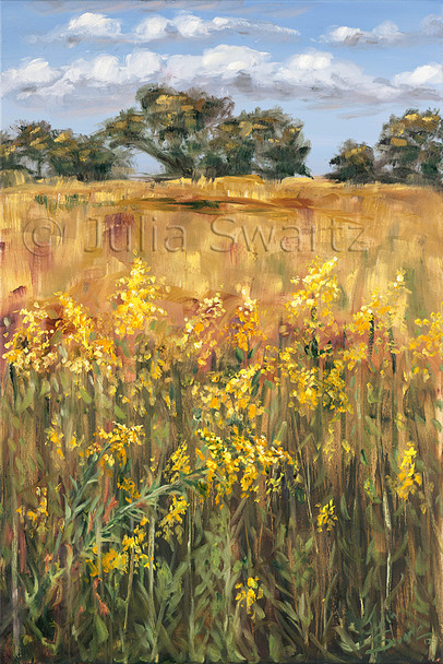 Golden Rod - Oil Painting