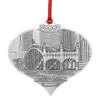 Pittsburgh's Smithfield Street Bridge Ornament by JP Diroll