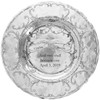 Engraved Keepsake Wedding Plate