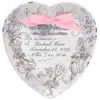Personalized heart shaped display plate for baby gift- unisex