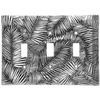 Tropical Breeze Triple Switch Plate Cover (Aluminum)