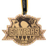 Pittsburgh Penguins Limited Edition 50th Anniversary Bronze Ornament with Swarovski Crystals