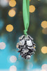 Hand Sculpted Pewter Pine Cone Ornament