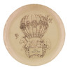Personalized Baby Zoo Balloon Plate- Bronze