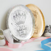 Baby Hot Air Balloon Personalized Plate
