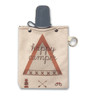 Happy Camper Canvas Flask