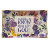 Be Still Glass Trinket Tray – Psalm 46:10