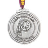 Washington Redskins Classic Round Christmas Ornament (Aluminum)
