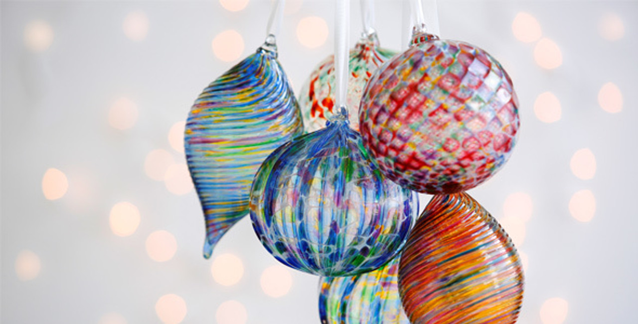 Handblown Glass Ornaments Wendell August Forge