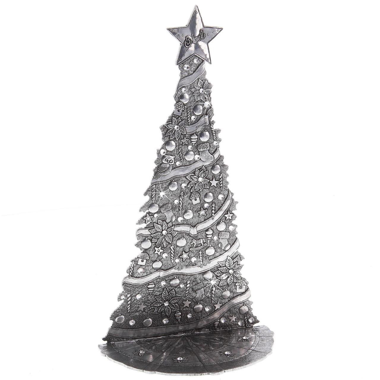 Village Christmas Tree Stand.The Magic Christmas Village Tree Large Aluminum