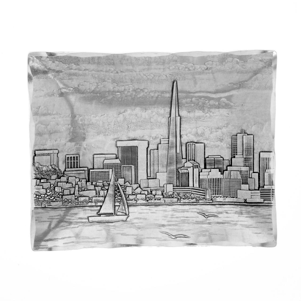 sc 1 st  Wendell August Forge & San Francisco Gifts Under $20 | Golden Gate Bridge Handmade Tray