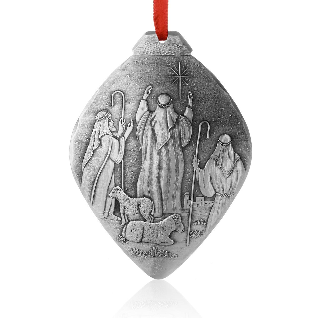 Nativity Shepherds Ornament