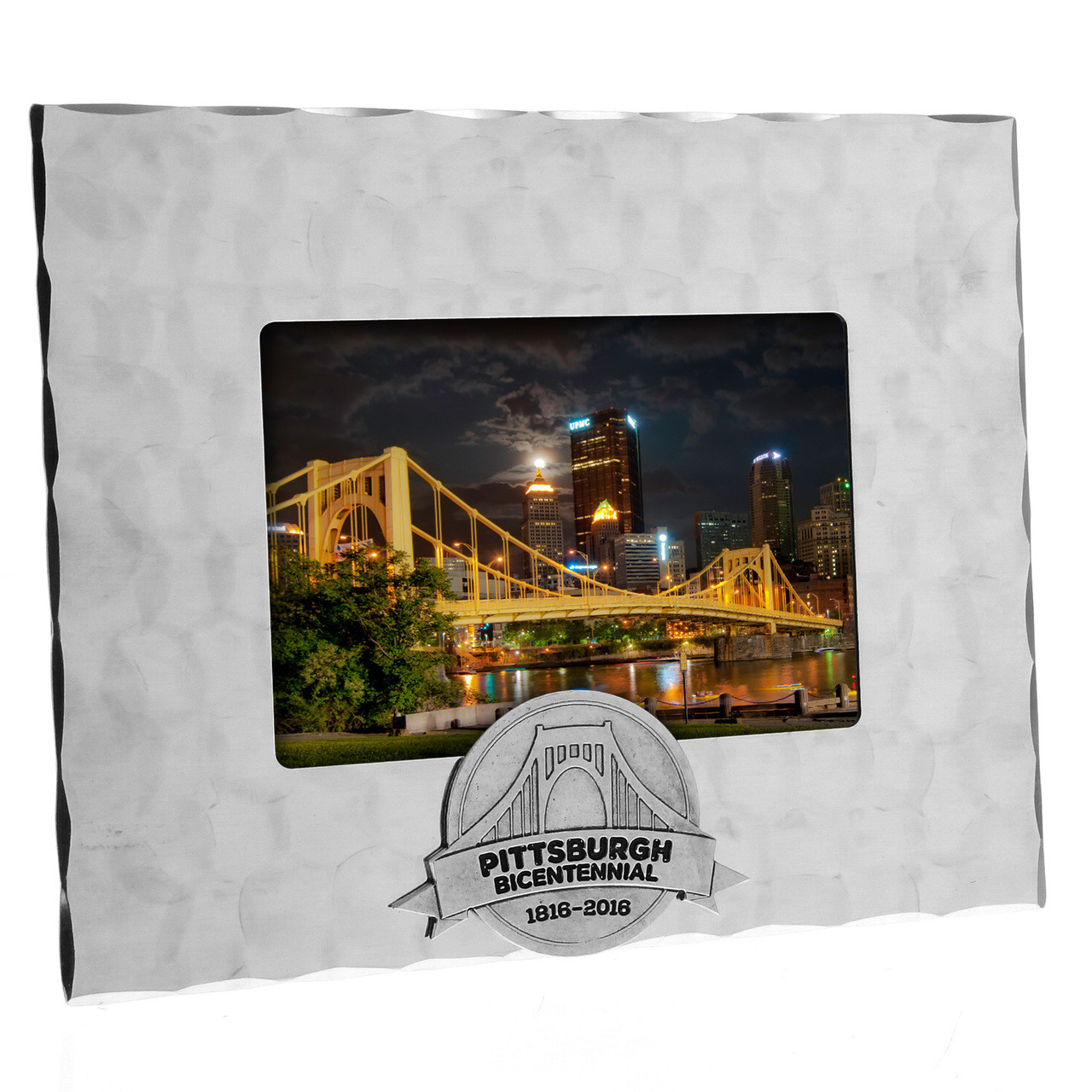 Pittsburgh Bicentennial 35 X 5 Photo Frame Wendell August