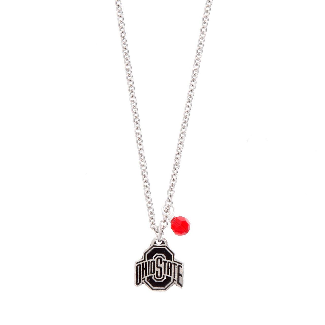 f4f9ecbe5d144 Ohio State Necklace
