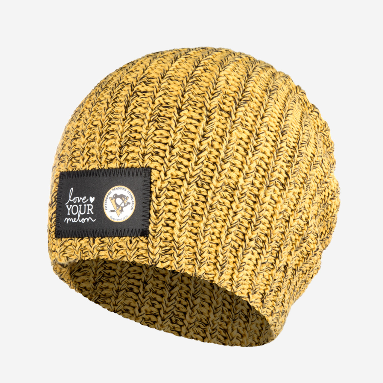 623ee33c0fc8f ... Engraving Preview  (Custom Message). Pittsburgh Penguins Love Your Melon  Beanie