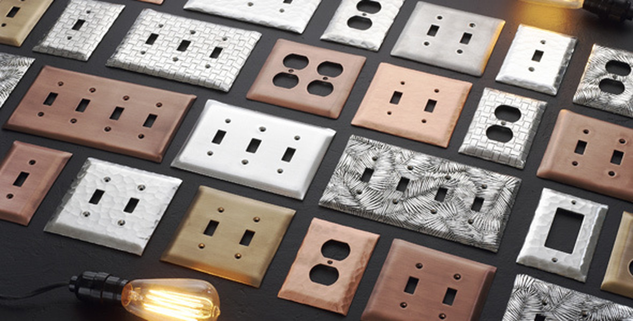 Different Types Of Edging On Decorative Switch Plates