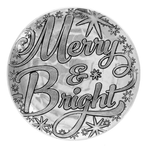 Merry and Bright Coaster