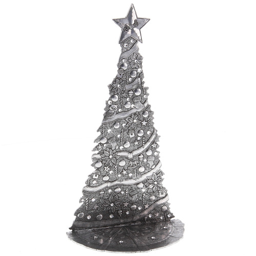 Village Christmas Tree with Swarovski Crystals