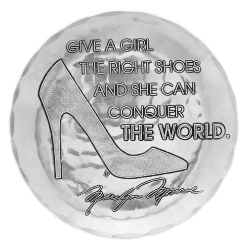 Give a Girl the Right Shoes Coaster