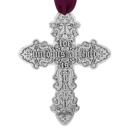Messiah Cross Ornament