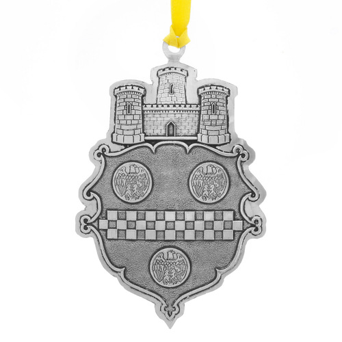 Pittsburgh Coat of Arms Ornament
