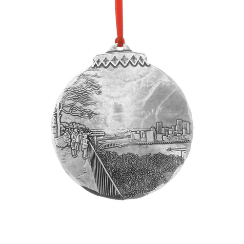 Pittsburgh Mt Washington View Christmas Ornament