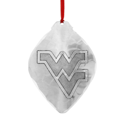 WVU Mountaineers Christmas Ornament - WVU 150th Anniversary Collector's Ornament With Swarovski® Crystals