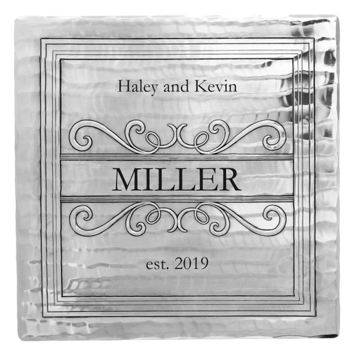 Personalized Square Trivet
