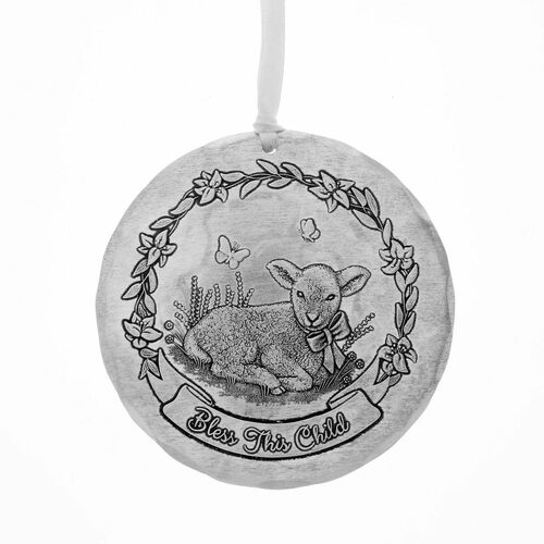 Bless this Child Baby Keepsake Ornament