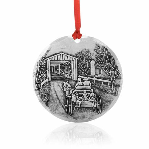 Amish Christmas Tree Ornament